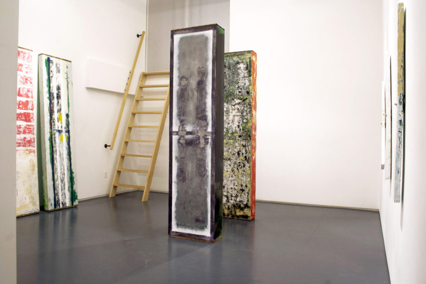 installation view of Tomato, 2012 at Klaus von Nichtssagend Gallery