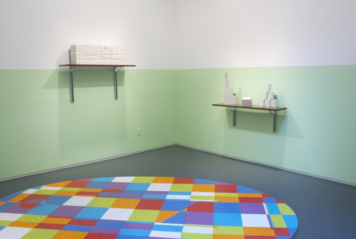 David Scanavino, installation at Klaus von Nichtssagend Gallery, 2013